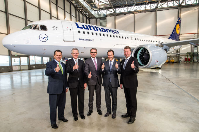 Airbus A320NEO Enters Service With Lufthansa