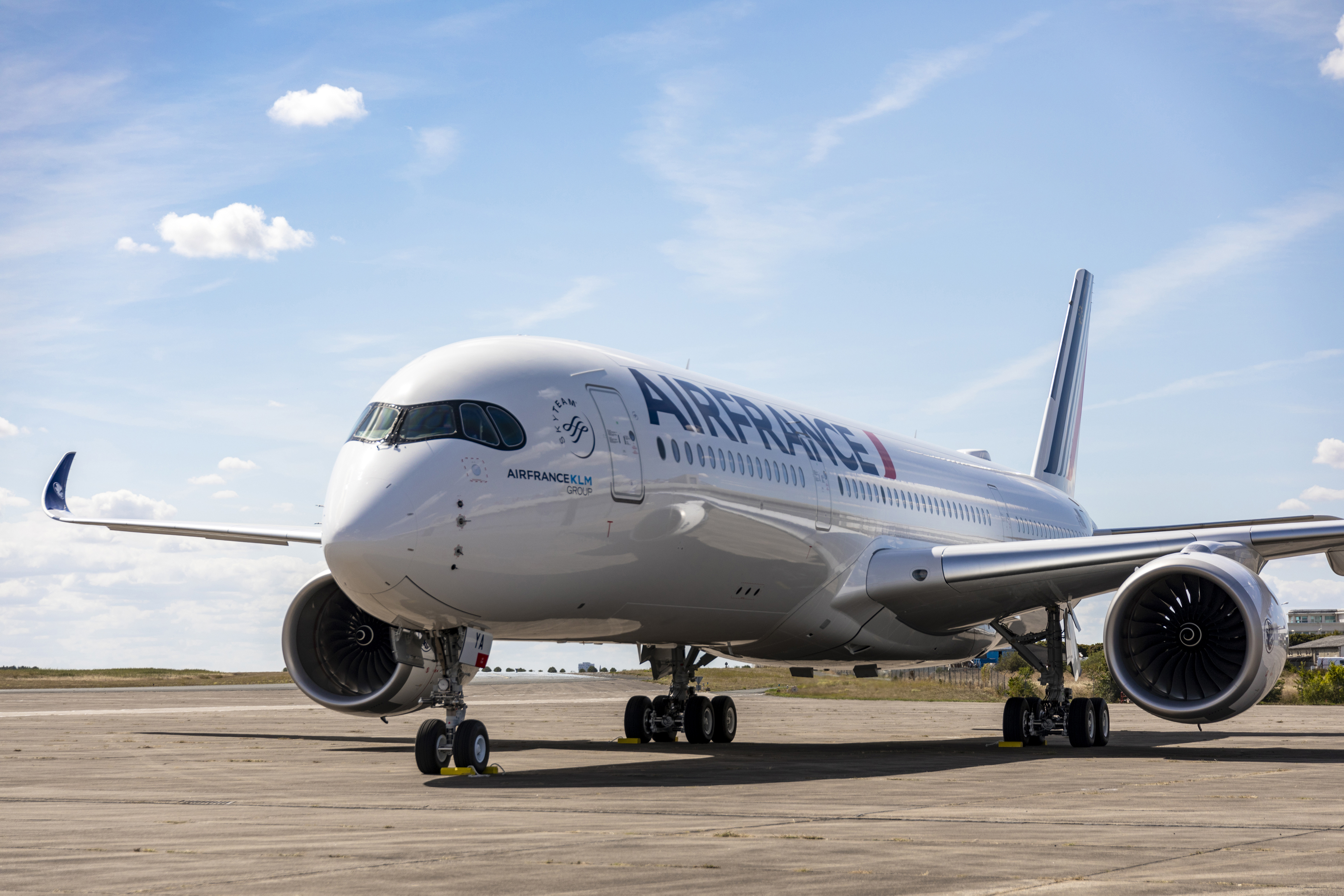 Air France Takes Delivery Of First Airbus A350