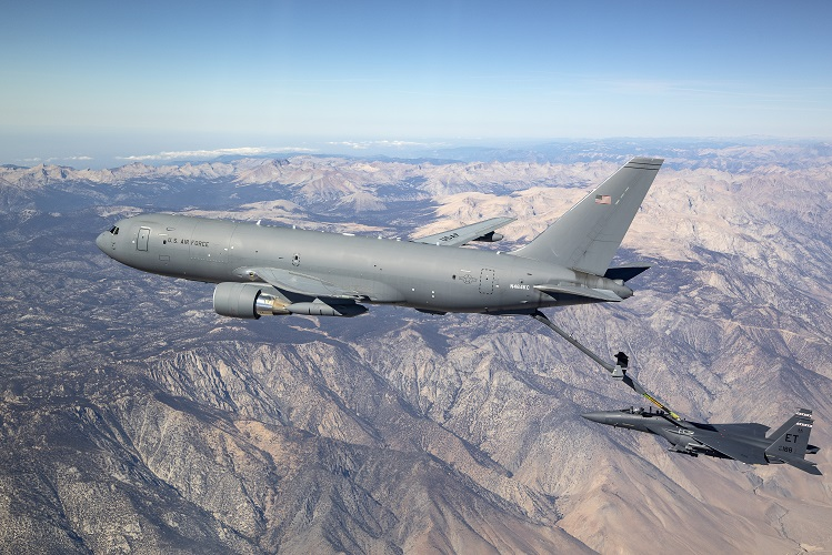 Boeing Awarded Contract From US Air Force For Additional 15 Boeing KC-46A Tankers