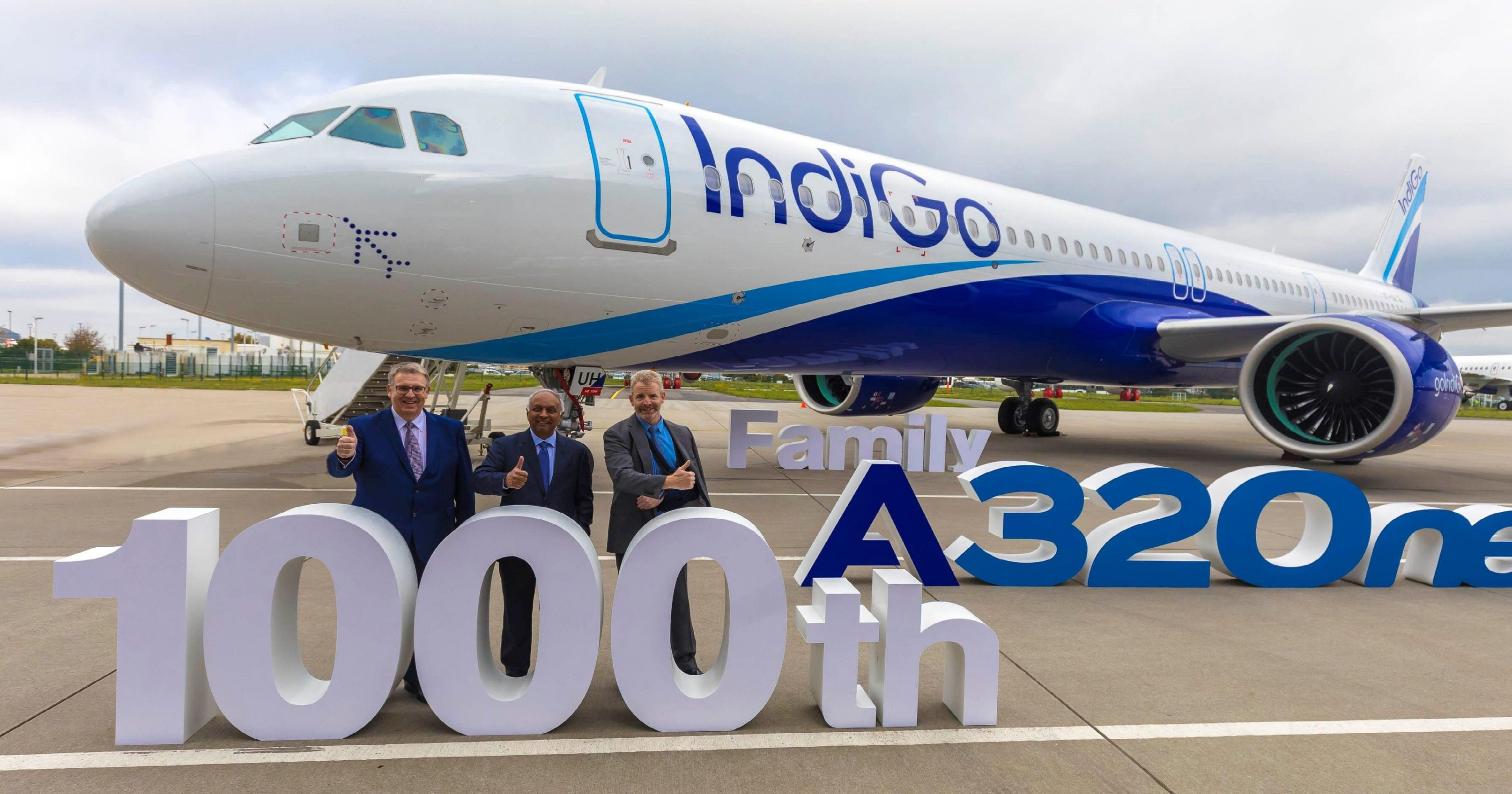 Airbus Delivers 1,000th A320neo Family Aircraft