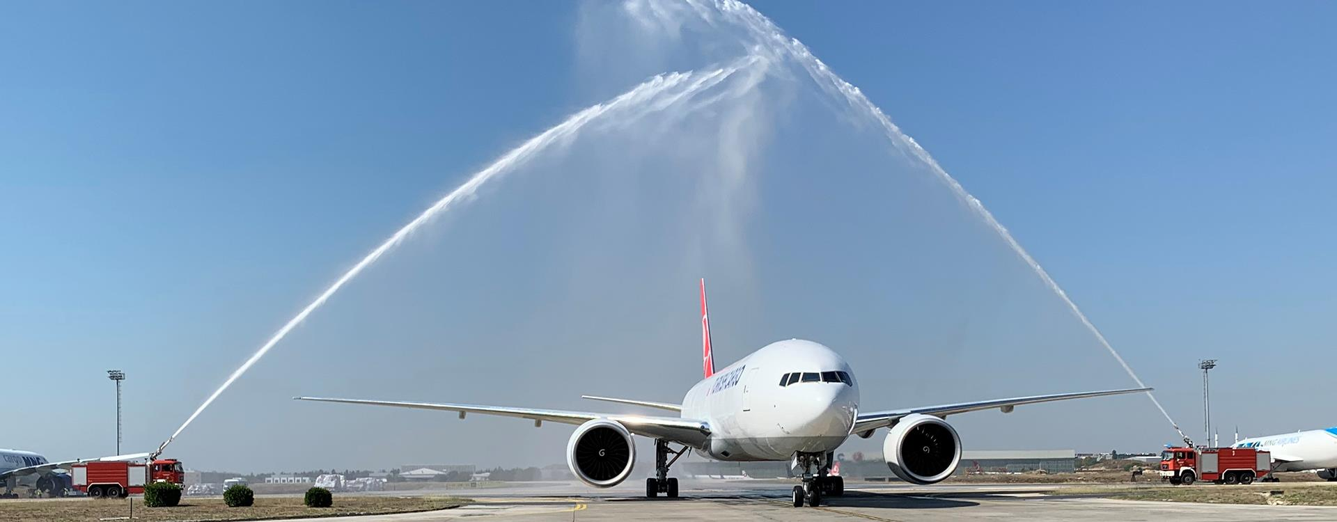 Turkish Airline Welcomes 6th Boeing 777F Into Cargo Fleet