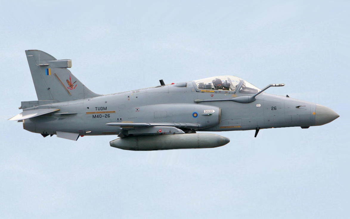 Indonesian Air Force Hawk 200 Fighter Jet Crashes As Pilot Safely Ejects