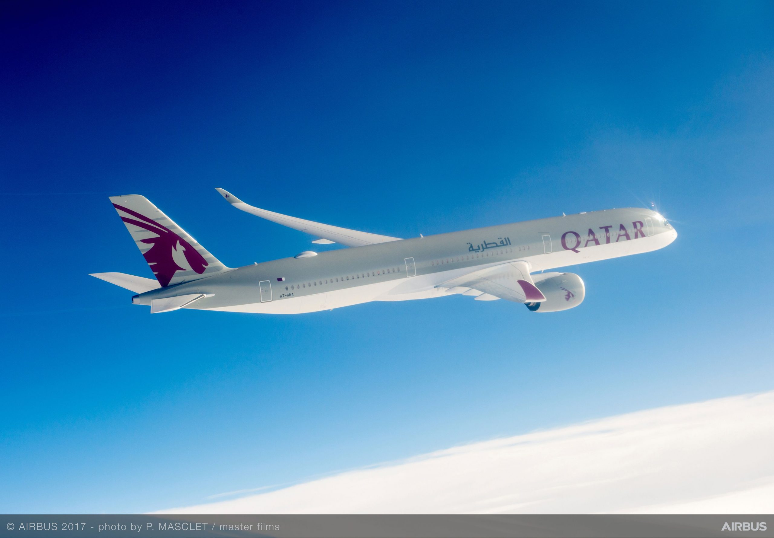 Qatar Airways Takes Delivery Of Three Airbus A350-1000s